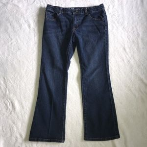 Crazy 8 Girls Jeans Bootcut Dark Wash Size 10 Plus